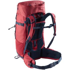VAUDE Asymmetric 38+8 Backpack Women red cluster